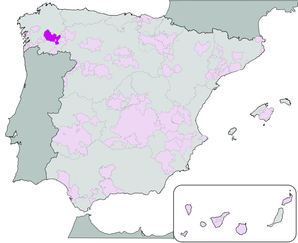 DO Ribeira Sacra Map