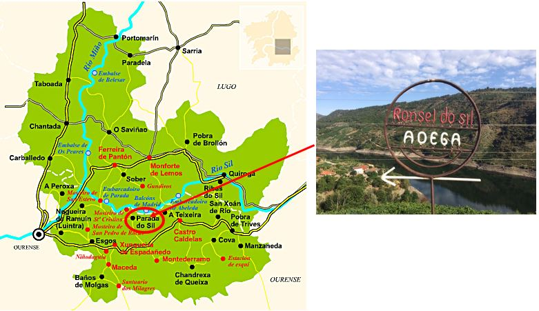 DO Ribeira Sacra Map II